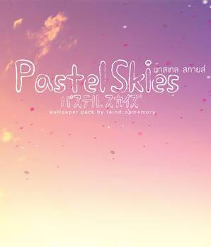 Pastel Skies Wallpaper Pack by Raindropmemory