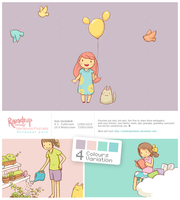 Harmonia Pastelis Wallpack by Raindropmemory