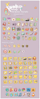 Harmonia Pastelis Icon Set