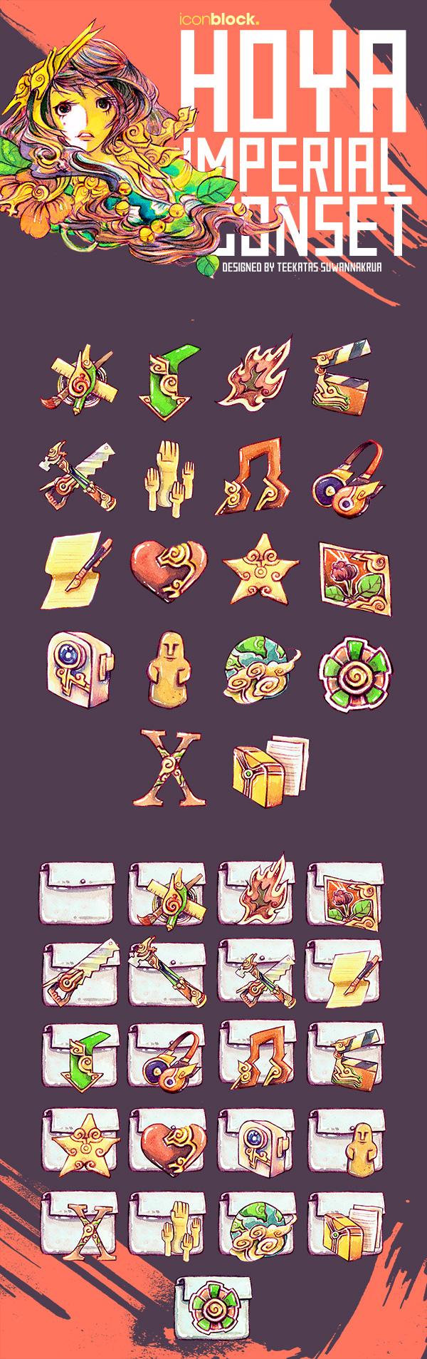 Hoya Imperial Icon Set