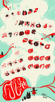 Fungiiiiiii Iconset by Raindropmemory
