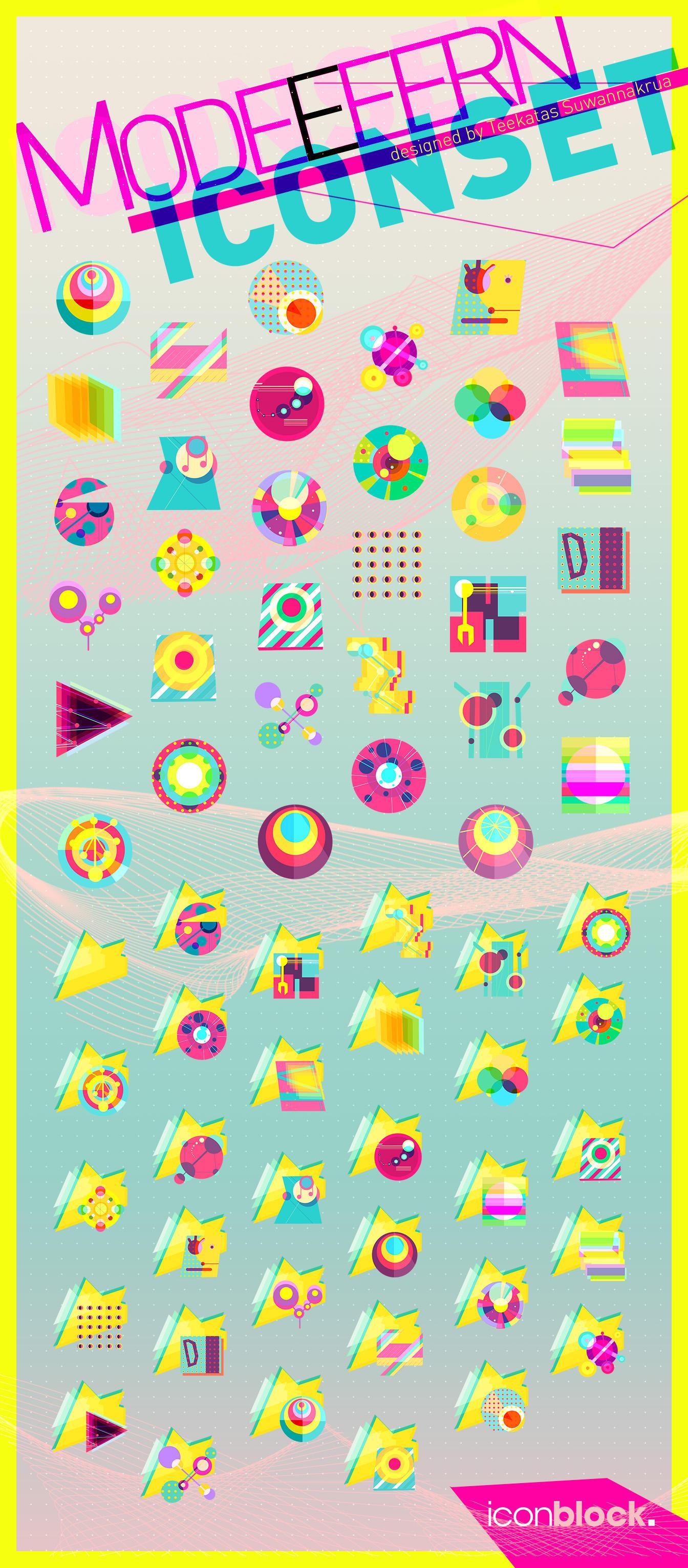 MODEEEERN Icon Set by Raindropmemory