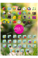Gaia10 Icon set