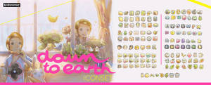 [down to earth] Iconset