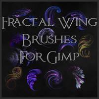 Fractal Wing Brushes for Gimp