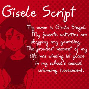 Dubmarine fonts: Gisele Script by vcfgr