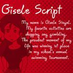 Dubmarine fonts: Gisele Script