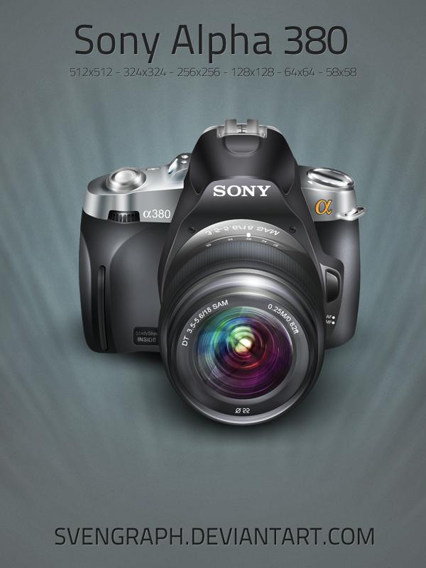 Camera Sony Alpha 380 by Svengraph