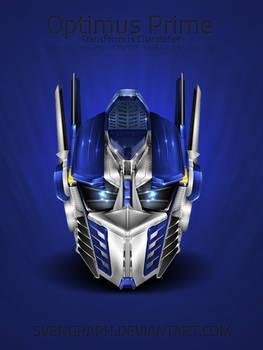 Optimus Prime Helmet Icon