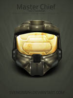 Master Chief Helmet by Svengraph