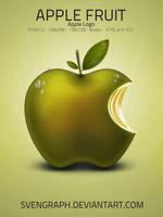Apple Fruit Logo by Svengraph