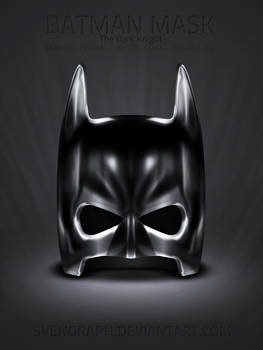 Batman Mask icon set