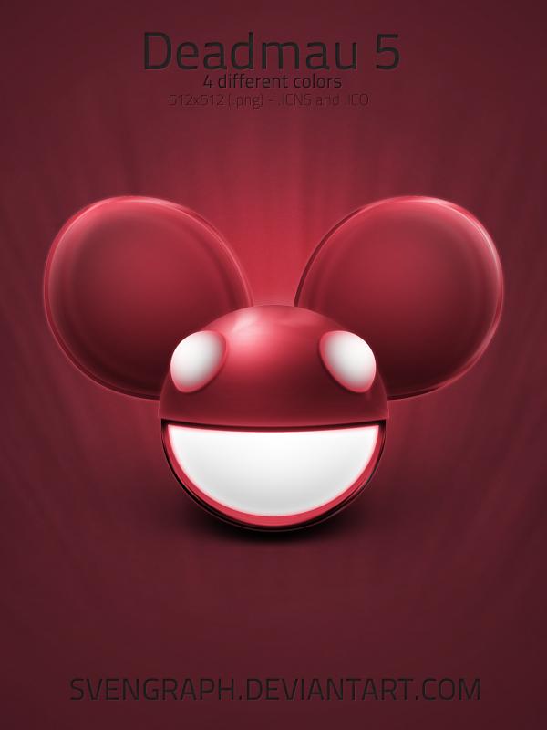 Deadmau5 mask icon set by Svengraph