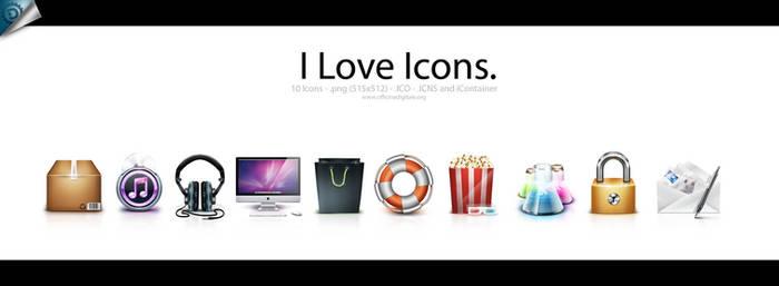 I Love Icons.