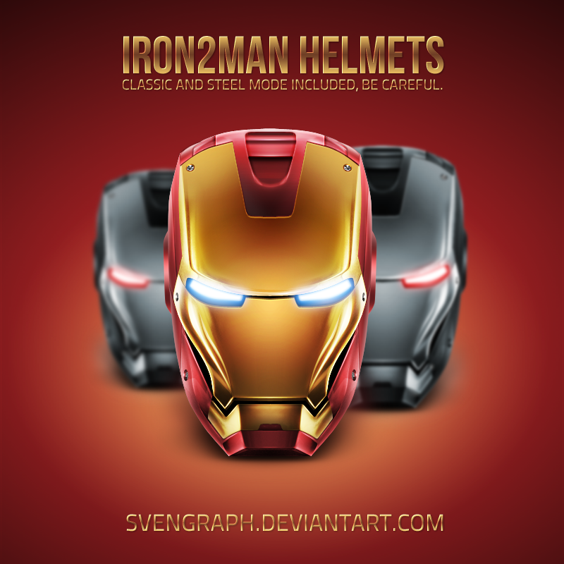 Iron2Man Helmet Fuckingremake by Svengraph
