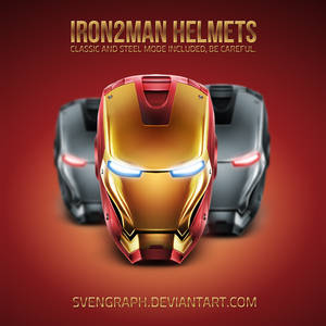Iron2Man Helmet Fuckingremake
