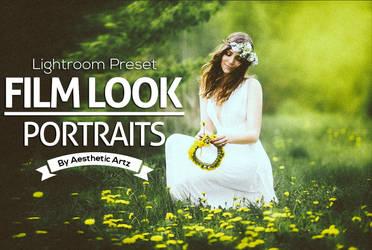 FREE DOWNLOAD FILM LOOK Portraits Lightroom Preset by AestheticArtz
