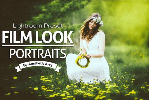 FREE DOWNLOAD FILM LOOK Portraits Lightroom Preset