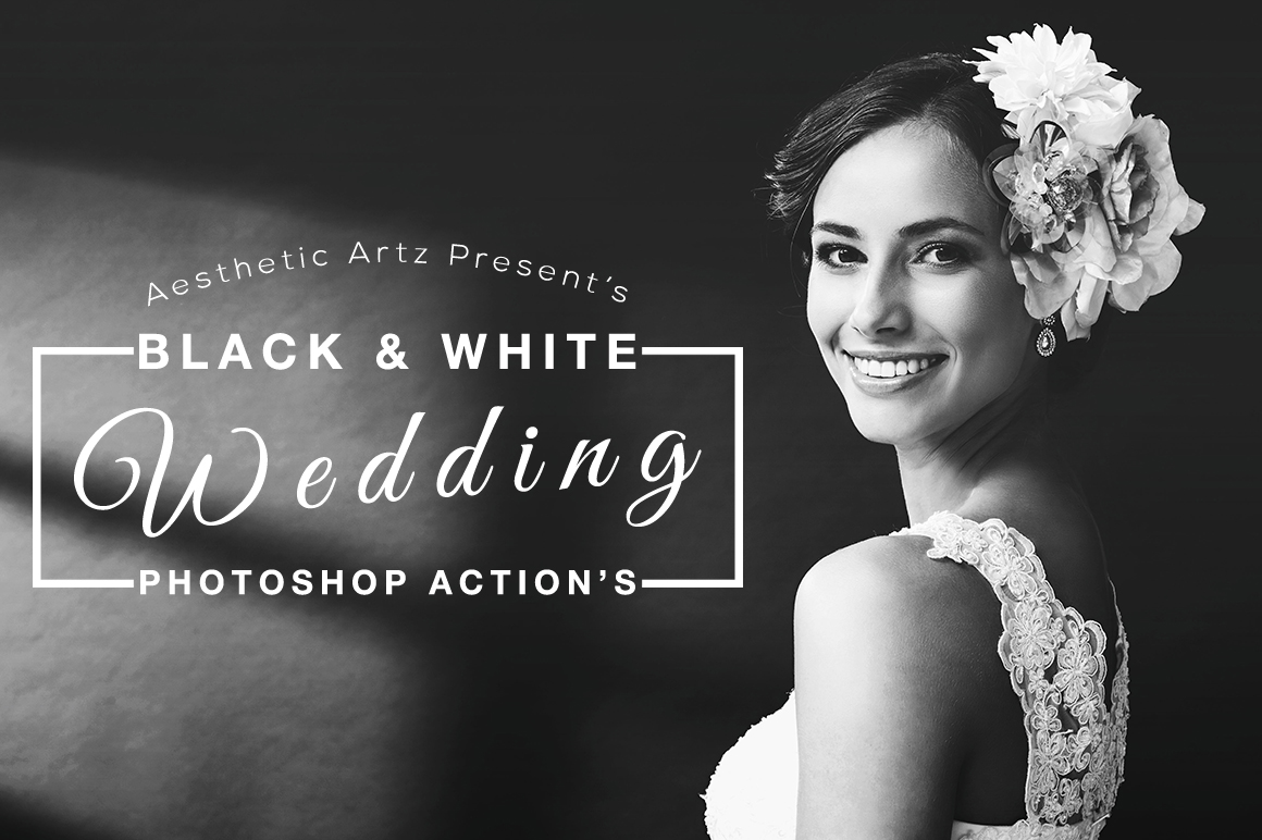 Free Aesthetic Black And White Photoshop Actions