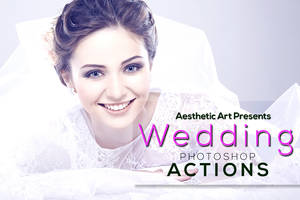 Free Aesthetic Wedding Photoshop Actions by AestheticArtz