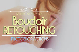 Free Boudoir Retouching Photoshop Actions by AestheticArtz