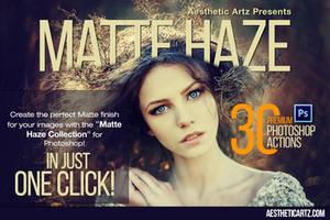 Free Download Matte Haze Photoshop Actions by AestheticArtz