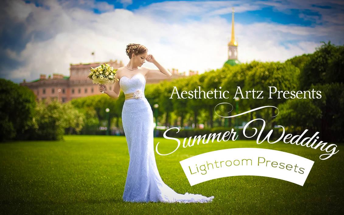 Free Summer Wedding Lightroom Workflow by AestheticArtz