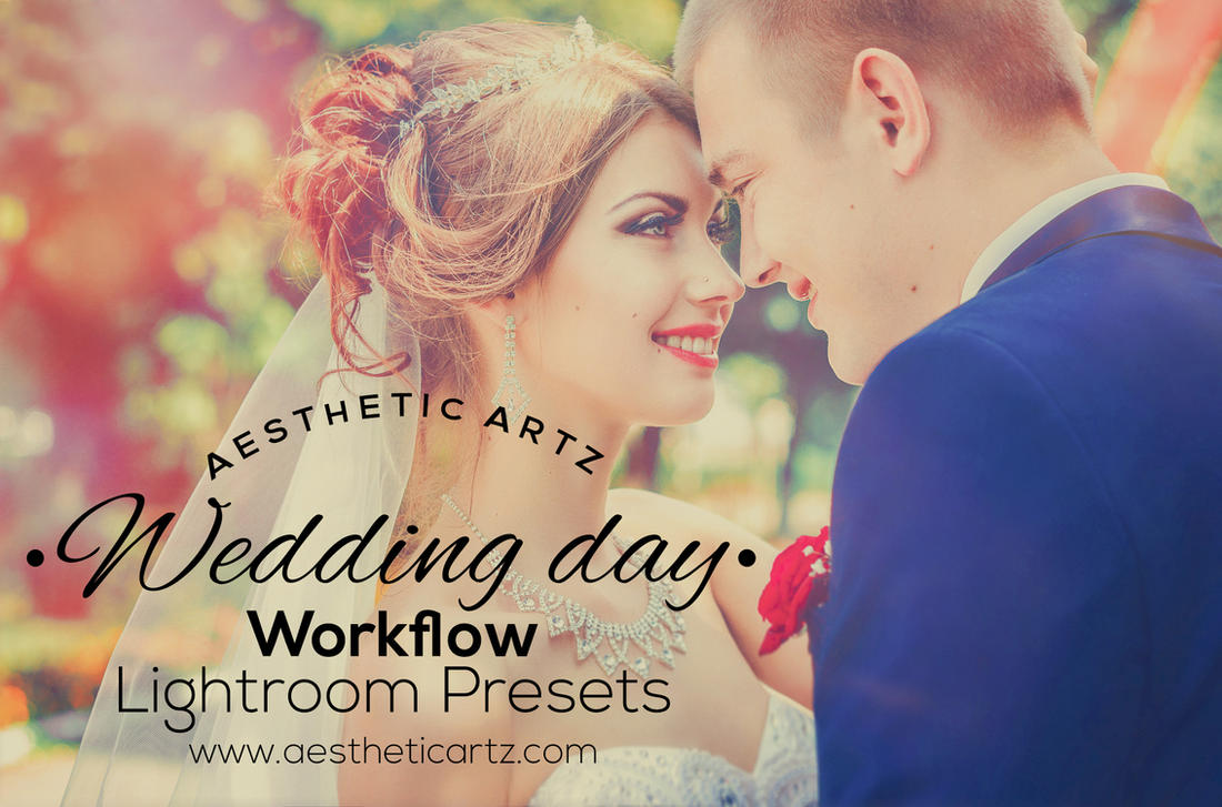 free download wedding day lightroom presets by aestheticartz on