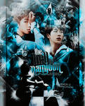 #5 The hell of Namjoon [Free PSD]  [NAMJIN POSTER] by IwillGoUp
