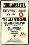 HP Educational Decree Template