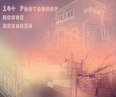 14+ Photoshop House Brushes