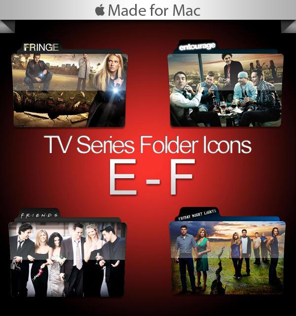 -Mac- TV Series Folders E-F by paulodelvalle