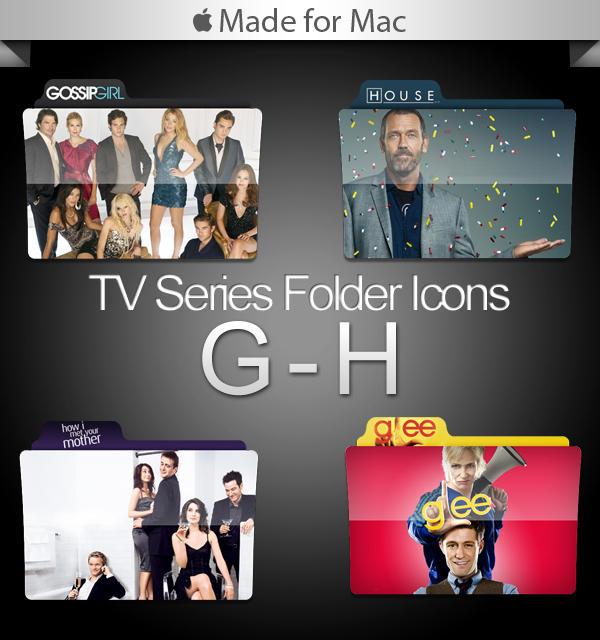 -Mac- TV Series Folders G-H by paulodelvalle