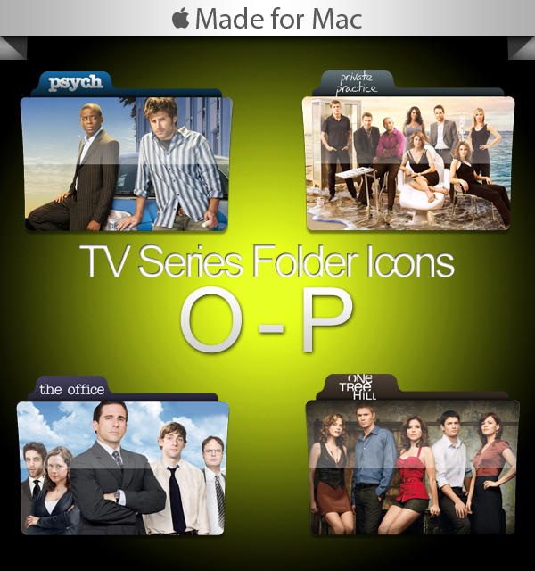 -Mac- TV Series Folders O-P by paulodelvalle