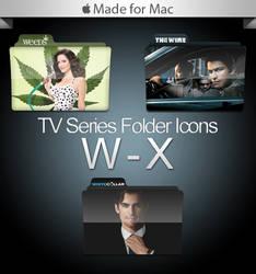 -Mac- TV Series Folders W-X