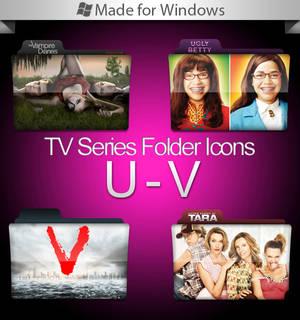 -Windows-TV Series Folders U-V