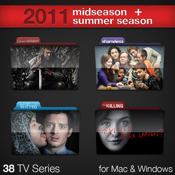 2011 Midseason TV Series by paulodelvalle