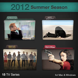 2012 Summer Season TV Series Folders