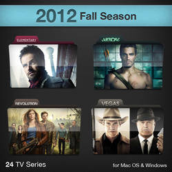 2012 Fall Season TV Series Folders