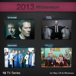2013 Midseason TV Series Folders