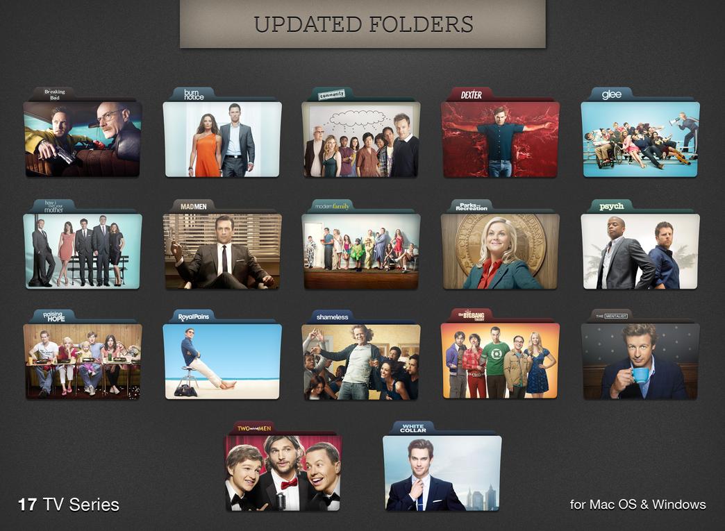 TV Series Folders Update by paulodelvalle