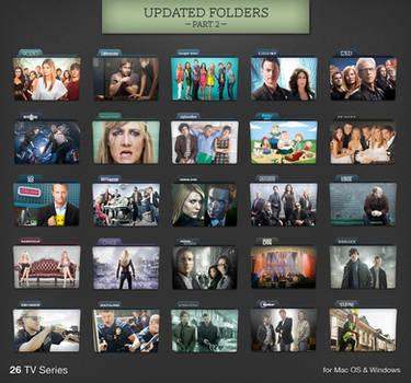 TV Series Folders Update 2