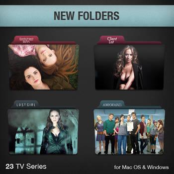 New TV Series Folders
