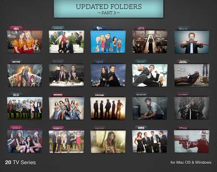 TV Series Folders Update 3