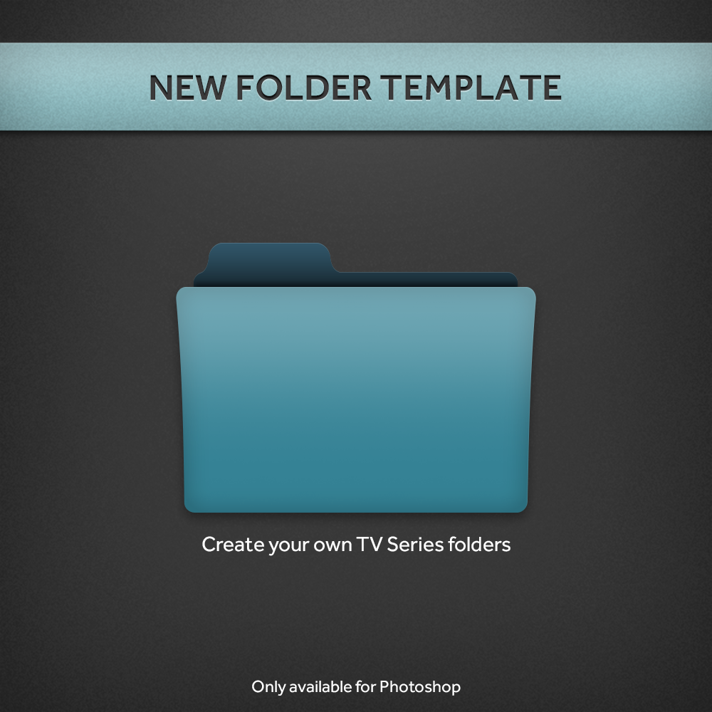 New Tv Series Folder Psd Template By Paulodelvalle On Deviantart