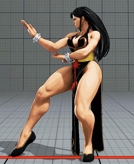 Sexy chun-li battle costume