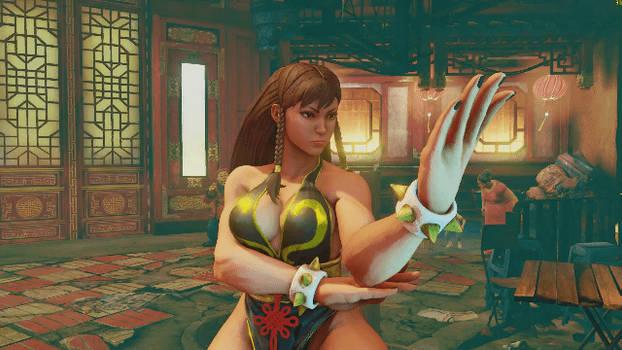 Sexy chun li pose gif 1