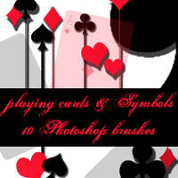 playing cards brushes