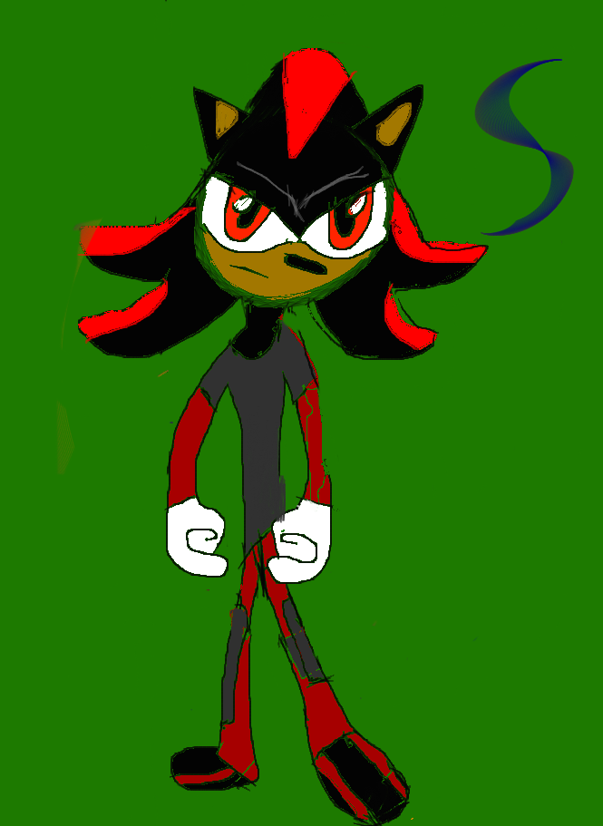 Shadow the hedgehog by xXAngelTHXx