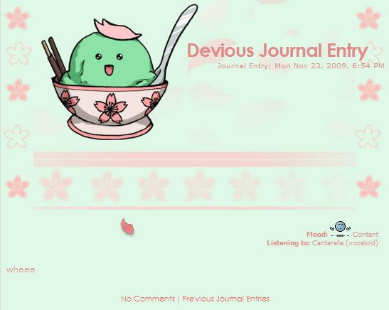 green tea journal skin by Erulisse2